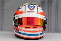 Helmet, Timo Glock, Virgin Racing