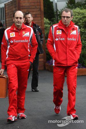 Stefano Domenicali, Scuderia Ferrari Direktörü