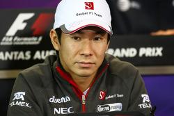 Kamui Kobayashi, Sauber F1 Team