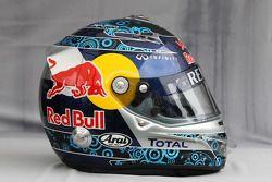 Helmet, Sebastian Vettel, Red Bull Racing