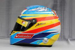 Helmet of Fernando Alonso, Scuderia Ferrari