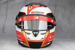 Helmet of Jules Bianchi, test driver, Scuderia Ferrari