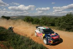 Sebastien Ogier en Julien Ingrassia, Citroen DS3 WRC, Citroen Total World Rally Team
