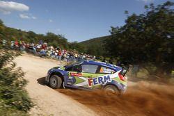 Dennis Kuipers en Frederic Miclotte, Ford Fiesta WRC