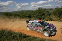 Peter van Merksteijn and Eddy CHevaillier, CITROEN DS3 WRC