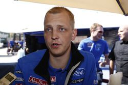 Mikko Hirvonen en Jarmo Lehtinen, Ford Fiesta RS WRC, BP Ford Abu Dhabi World Rally Team