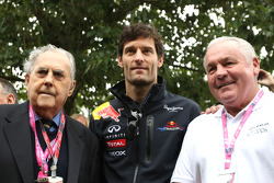 Sir Jack Brabham, Mark Webber, Red Bull Racing and Alan Jones