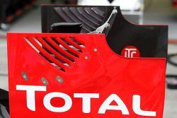 Lotus Renault GP, technical detay, arka kanat