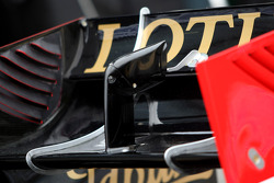 Lotus Renault GP, technical detail, rear wing