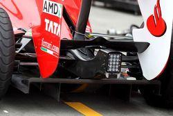 Scuderia Ferrari, technical detay, diffusor