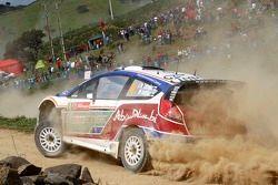Jari-Matti Latvala en Miikka Anttila, Ford Fiesta RS WRC, BP Ford Abu Dhabi World Rally Team