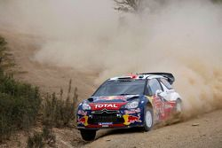 Sébastien Ogier en Julien Ingrassia en Citroen DS3 WRC, Citroen Total World Rally Team