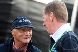 Niki Lauda and Walter Rohrl