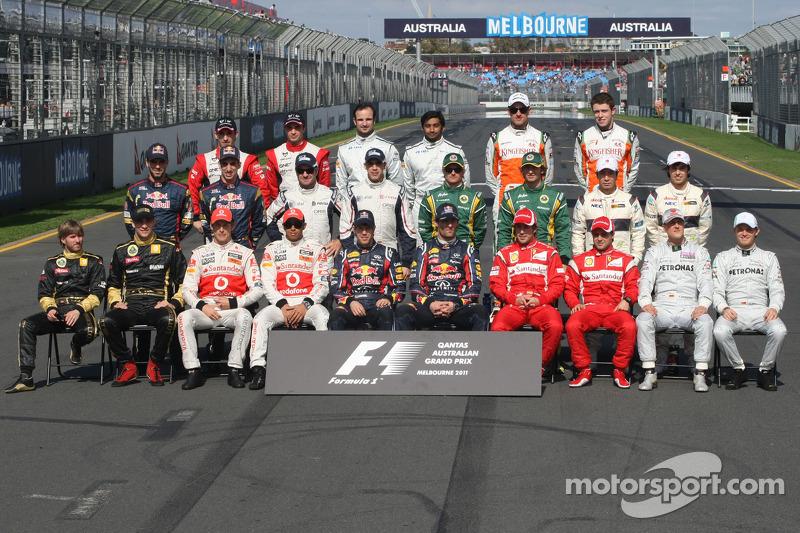 Clase 2011 Fórmula 1