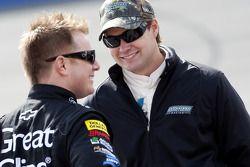 Ricky Stenhouse Jr. et Jason Leffler