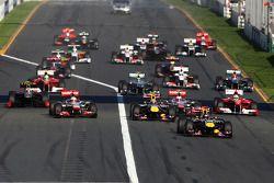 Start, race