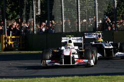 Sergio Perez, Sauber F1 Team ve Pastor Maldonado, Williams F1 Team