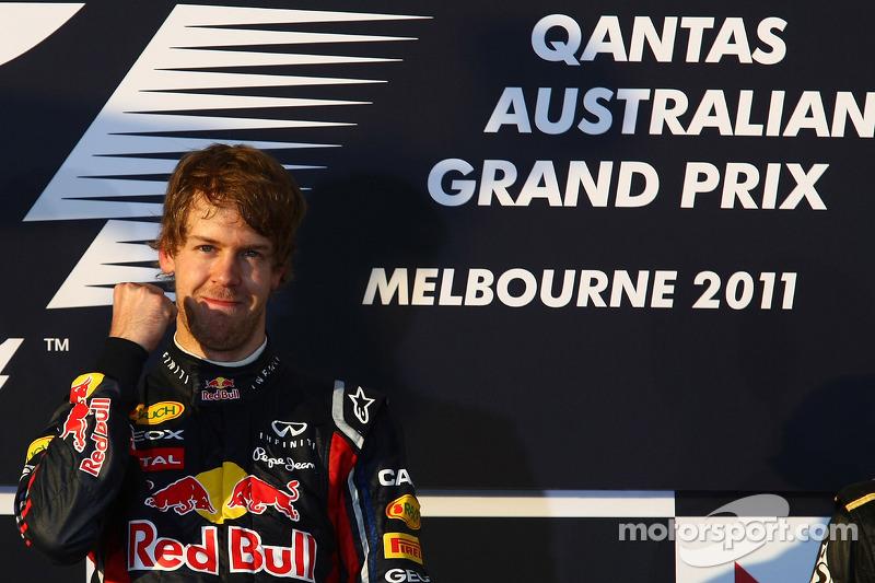 2011 - جائزة أستراليا الكبرى: سيباستيان فيتيل، ريد بُل