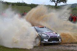 Peter van Merksteijn en Eddy Chevaillier, CITROEN DS3 WRC