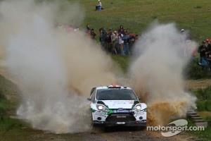 Matthew Wilson and Scott Martin, Ford Fiesta RS WRC, M-Sport Stobart Ford World Rally Team