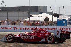 Scott Dixon, Target Chip Ganassi Racing after the start crash