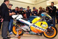 #1 Repsol Honda MotoGP moto
