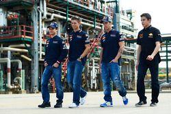 Dani Pedrosa, Casey Stoner, Andrea Dovizioso et Marc Marquez