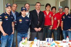 Dani Pedrosa, Casey Stoner, Andrea Dovizioso y Marc Márquez