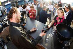 Champagne at Circuit Paul Ricard