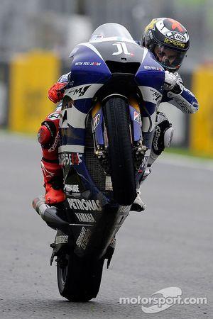 Jorge Lorenzo, Yamaha Factory Racing, vainqueur de la course