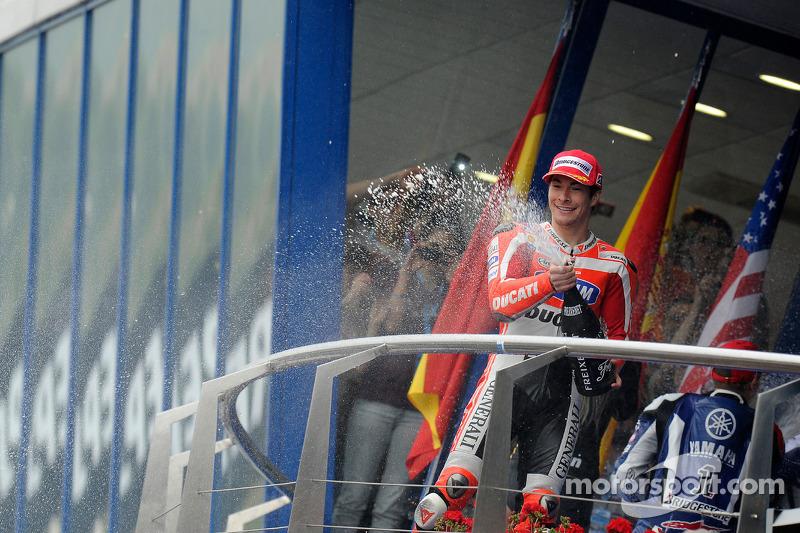 Jerez 2011: Laatste podiumplaats in MotoGP