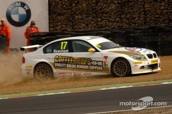 Dave Newsham, Geoff Steel Racing