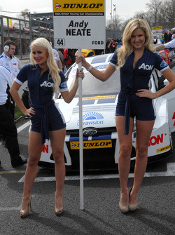 Andy Neate's Grid Girls