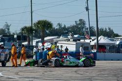 #018 Performance Tech Motorsports Oreca FLM09: Anthony Nicolosi, Jarret Boon, Jan-Dirk Leuders