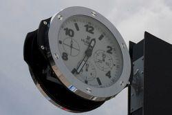 Reloj en el pitlane