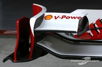 Scuderia Ferrari, Technical detail, front wing