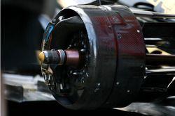 Lotus Renault GP, Technical detail rear brake system