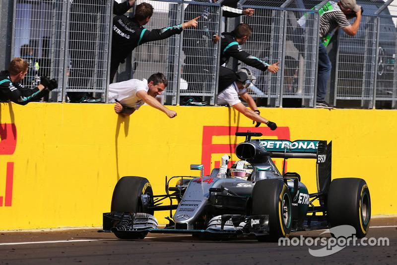 1. Lewis Hamilton, Mercedes AMG F1 Team