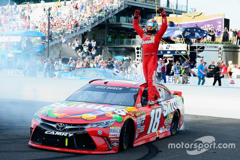 Indianapolis: Kyle Busch (Gibbs-Toyota)