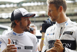 Fernando Alonso, McLaren ve Jenson Button, McLaren