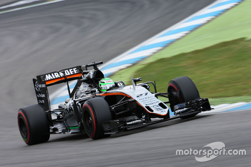 8: Nico Hulkenberg, Sahara Force India F1 VJM09 (Straf: 1 gridplaats)