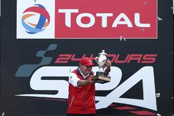 Chris Reinke, Audi Sport receives the Coupe Du Roi