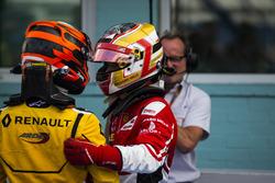 Jack Aitken, Arden International et Charles Leclerc, ART Grand Prix