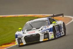 #26 Sainteloc Racing, Audi R8 LMS: Grégory Guilvert, Christopher Haase, Mike Parisy