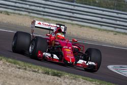Esteban Gutierrez, Ferrari, teste les pneus 2017