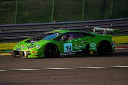 #19 GRT Grasser Racing Team Lamborghini Huracan GT3: Andrea Piccini, Luca Stolz, Michele Beretta