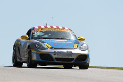 #36 Strategic Wealth Racing Porsche Cayman: Matthew Dicken, Corey Lewis