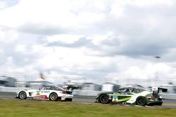 #35 Car Collection Motorsport, Mercedes-Benz SLS AMG GT3: Florian Scholze, Karl Wendlinger; #9 Bentley Team ABT, Bentley Continental GT3: Andreas Weishaupt, Marco Holzer