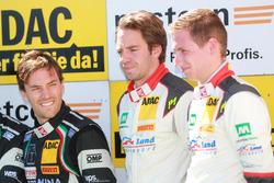 Podium: #28 Montaplast by Land-Motorsport, Audi R8 LMS: Peter Hoevenaars, Frédéric Vervisch