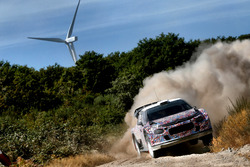 Kris Meeke, Craig Breen ve Khalid Al-Qassimi, Citroën World Rally Team, Citroën C3 WRC Plus 2017